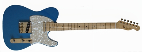 Don's 1963 Vintage Lake Placid Blue Telecaster